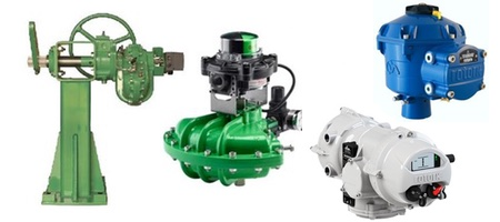 Damper Drives and Actuators